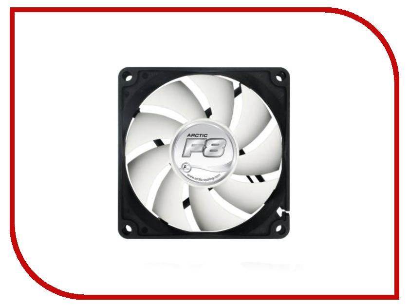 Вентилятор Arctic Cooling F8 AFACO-08000-GBA01 80mm вентилятор arctic cooling f12 afaco 12000 gba01 120mm