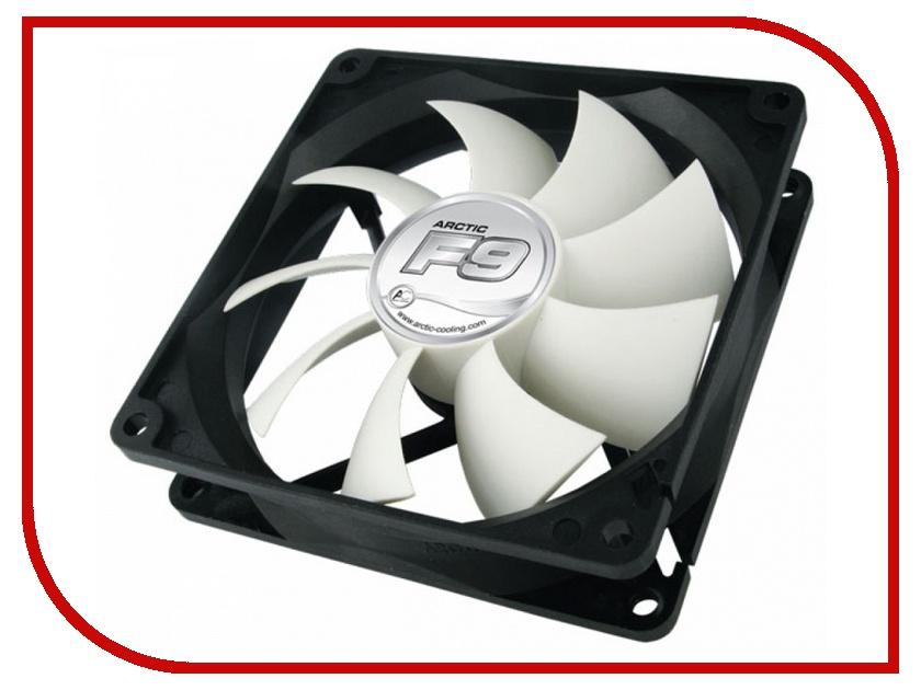 Вентилятор Arctic Cooling F9 AFACO-09000-GBA01 90mm вентилятор arctic cooling f12 afaco 12000 gba01 120mm