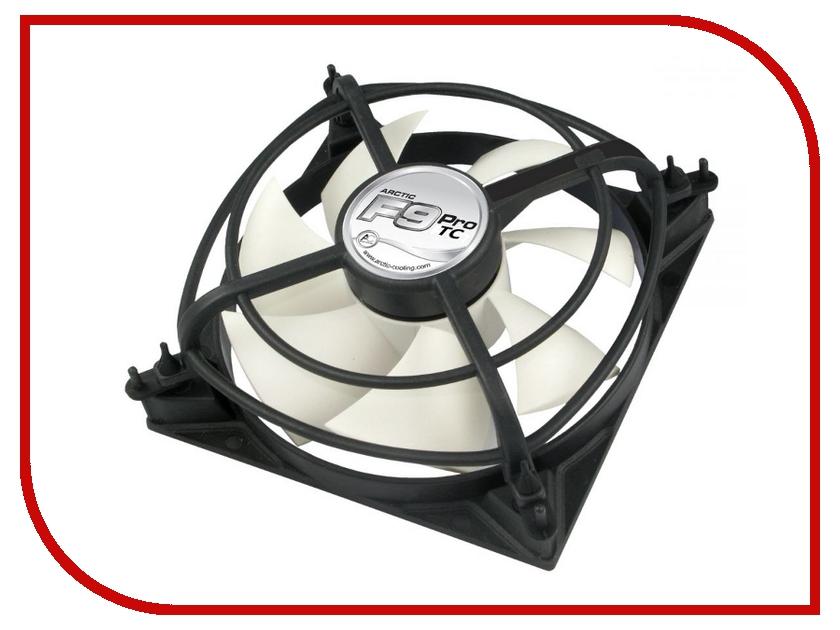 Вентилятор Arctic Cooling F9 Pro TC термодатчик AFACO-09PT0-GBA01 90mm вентилятор arctic cooling f12 afaco 12000 gba01 120mm