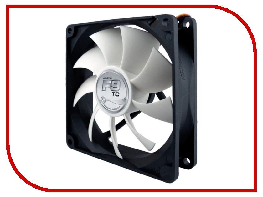 Вентилятор Arctic Cooling F9 TC термодатчик AFACO-090T0-GBA01 90mm вентилятор arctic cooling f12 afaco 12000 gba01 120mm
