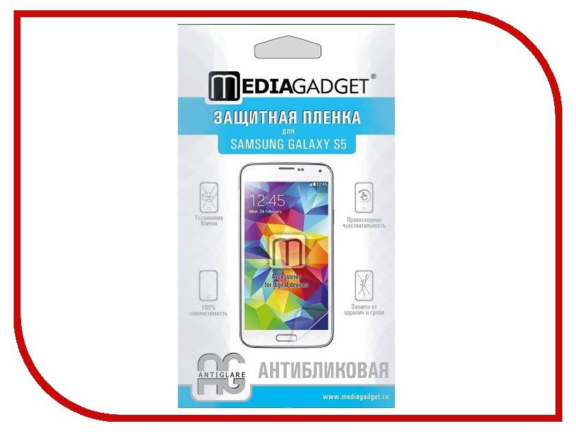 Аксессуар Защитная пленка Samsung SM-G900F Galaxy S5 Media Gadget прозрачная MG603<br>