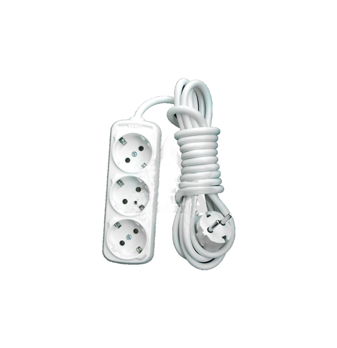 Удлинитель LUX У3-Е-03 3 Sockets 3m 16A