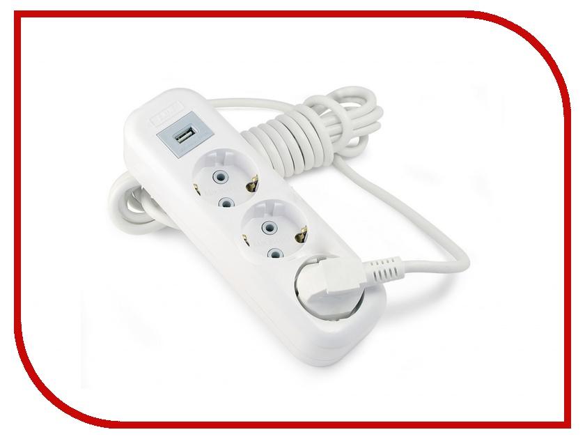 Удлинитель LUX Y3-E-USB-03 3 Sockets 3m 16A usb e cig ecig ego e e cigs usb usb charger