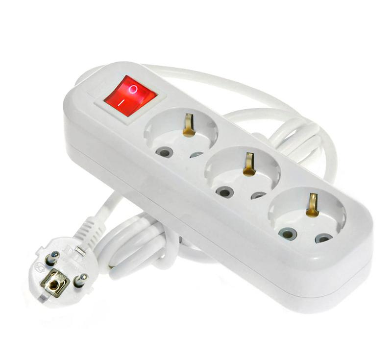Сетевой фильтр LUX У3-ЕВК-05 3 Sockets 5m 16A