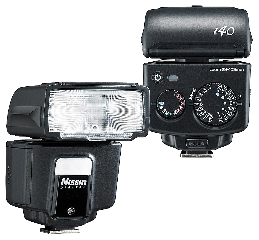 лучшая цена Вспышка Nissin i-40 for Sony
