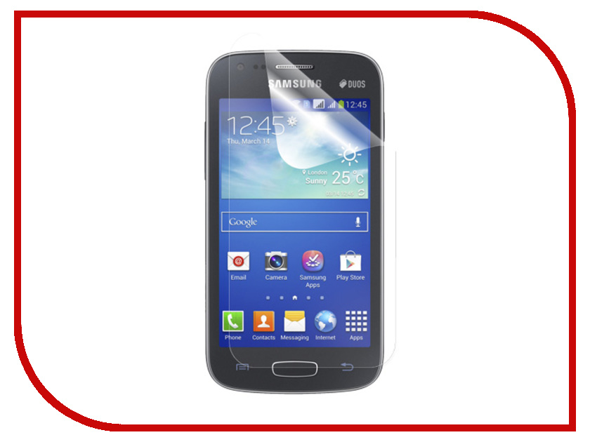 где купить  Аксессуар Защитная пленка Samsung Galaxy Ace 3 S7270 Polaroid прозрачная  дешево