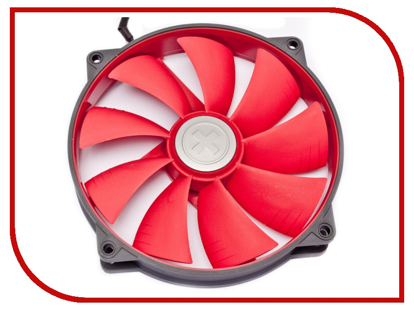 Вентилятор Xilence Case-Fan Grey-Red COO-XPF140.2CF 140x140x25mm