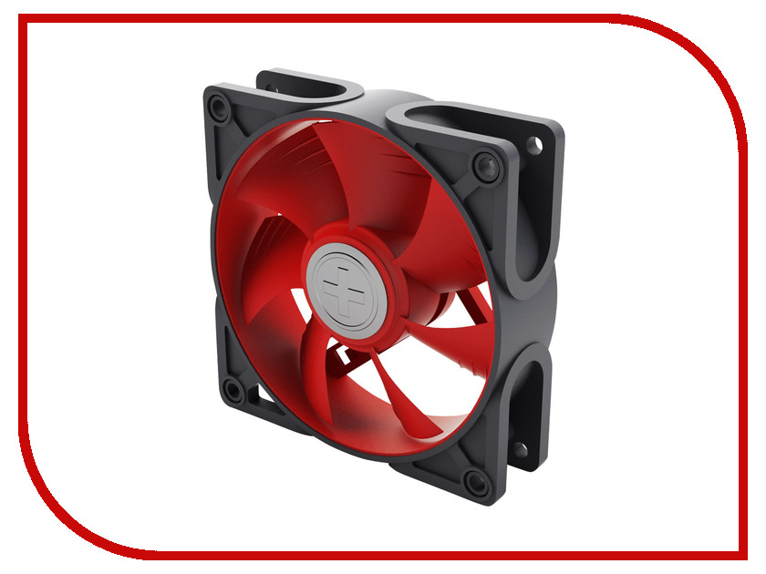 Вентилятор Xilence Case-Fan Grey-Red COO-XPF92.2CF 90x90x25mm