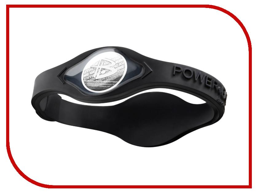 Браслет POWER BALANCE S White Hologram Black/Black