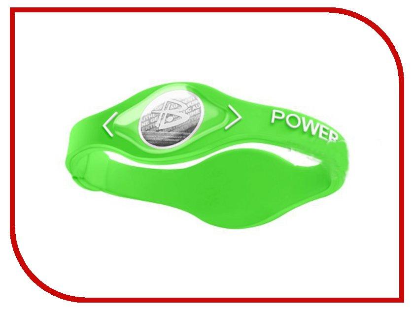 Браслет POWER BALANCE XS White Hologram Green/White