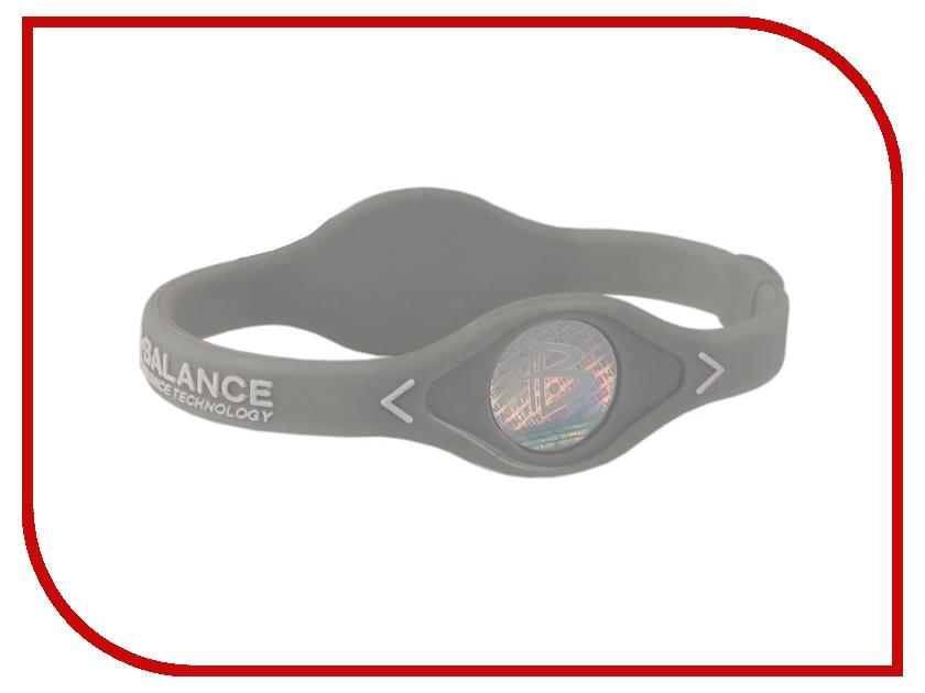 Браслет POWER BALANCE XS White Hologram Grey/White