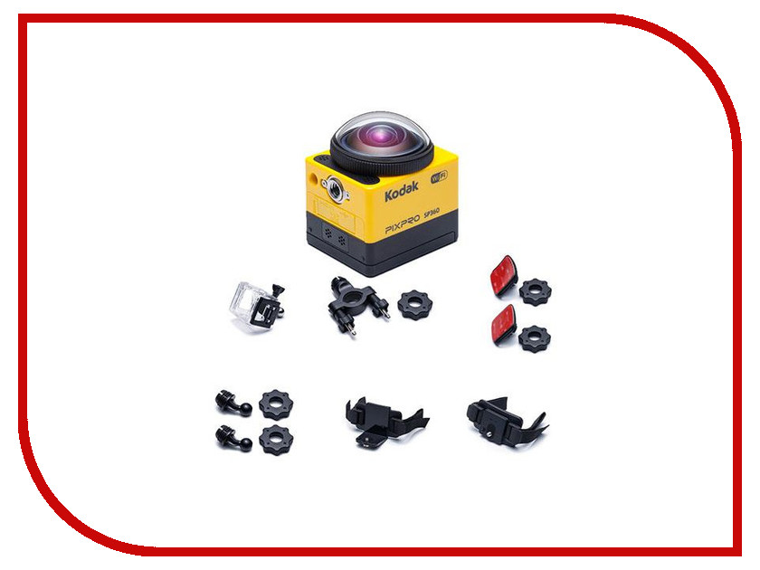 Экшн-камера Kodak SP360 kodak ektra