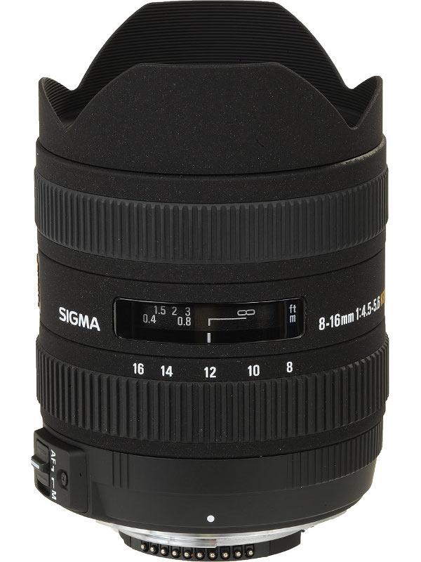 Объектив Sigma Nikon AF 8-16 mm F/4.5-5.6 DC HSM