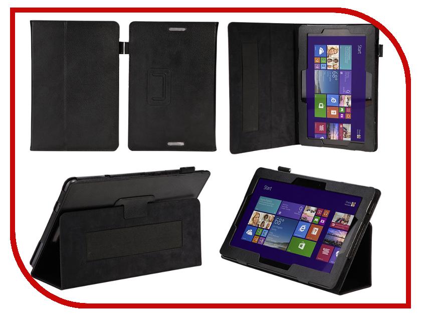 Аксессуар Чехол ASUS Transformer Book T100 10.0 IT Baggage иск. кожа Black ITAST1002-1