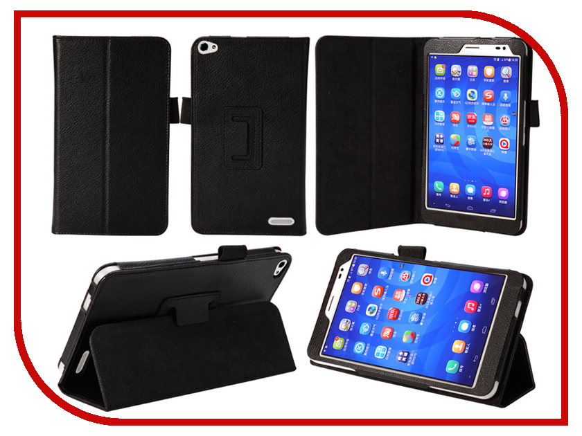 Аксессуар Чехол Huawei MediaPad X1 7.0 IT Baggage иск. кожа Black ITHX1702-1