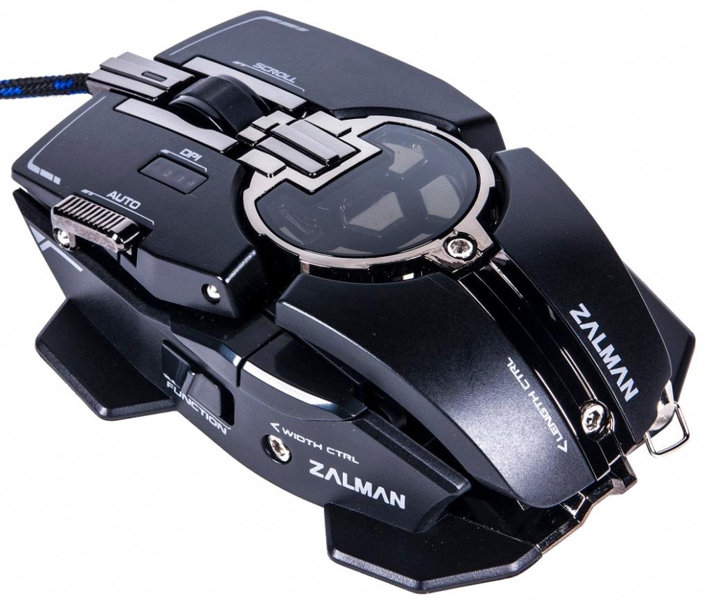 Мышь проводная Zalman ZM-GM4 Black