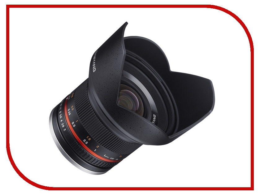 Объектив Samyang Sony E NEX MF 12 mm F/2.0 NCS CS Silver<br>