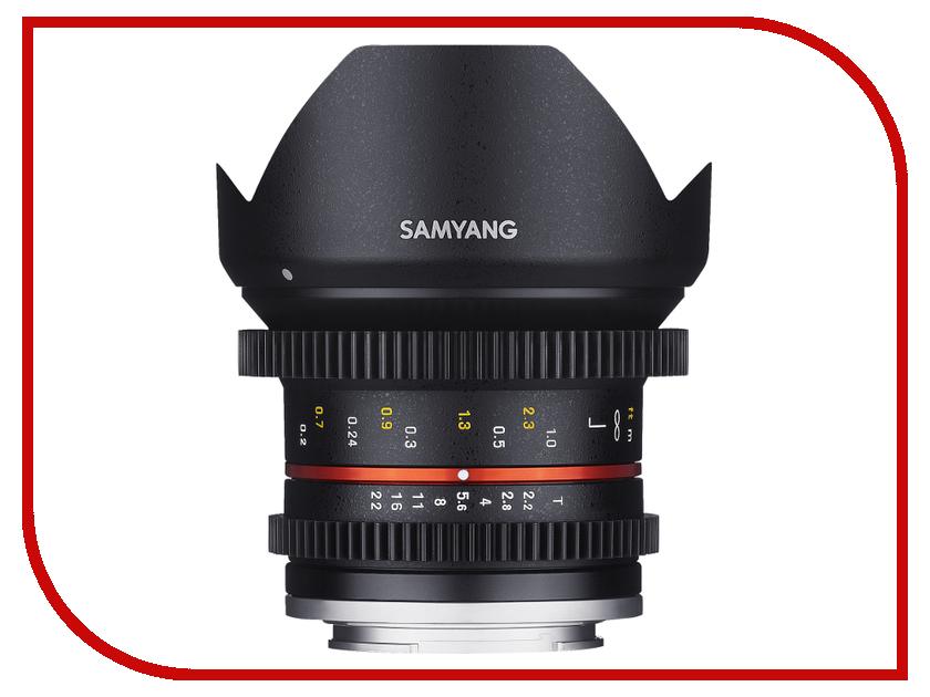 Объектив Samyang Samsung NX MF 12 mm T2.2 NCS CS CINE