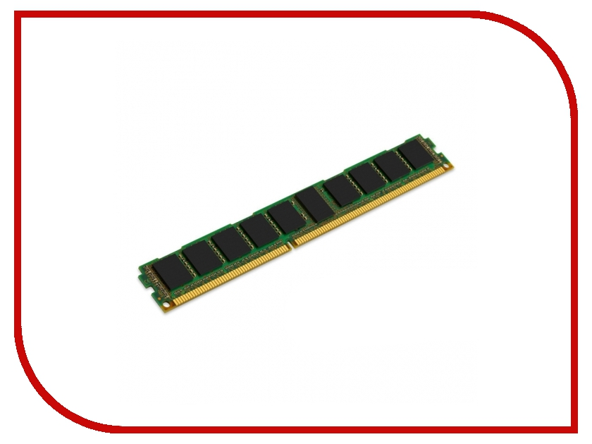 Модуль памяти Kingston DDR3L DIMM 1600MHz PC3-12800 ECC Reg CL11 SR x4 1.35V - 8Gb KVR16LR11S4L/8<br>