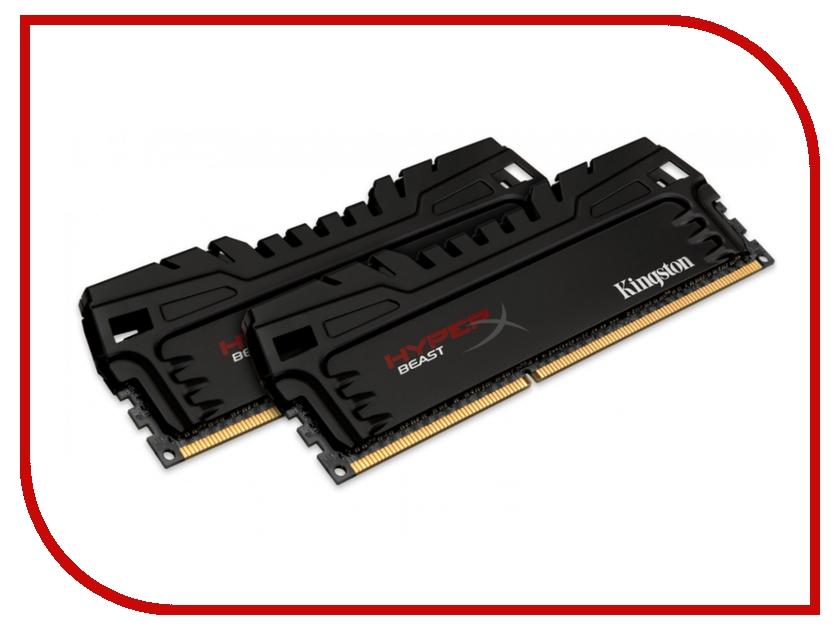 Модуль памяти Kingston HyperX Beast PC3-17000 DIMM DDR3 2133MHz - 8Gb KIT (2x4Gb) HX321C11T3K2/8 CL11<br>