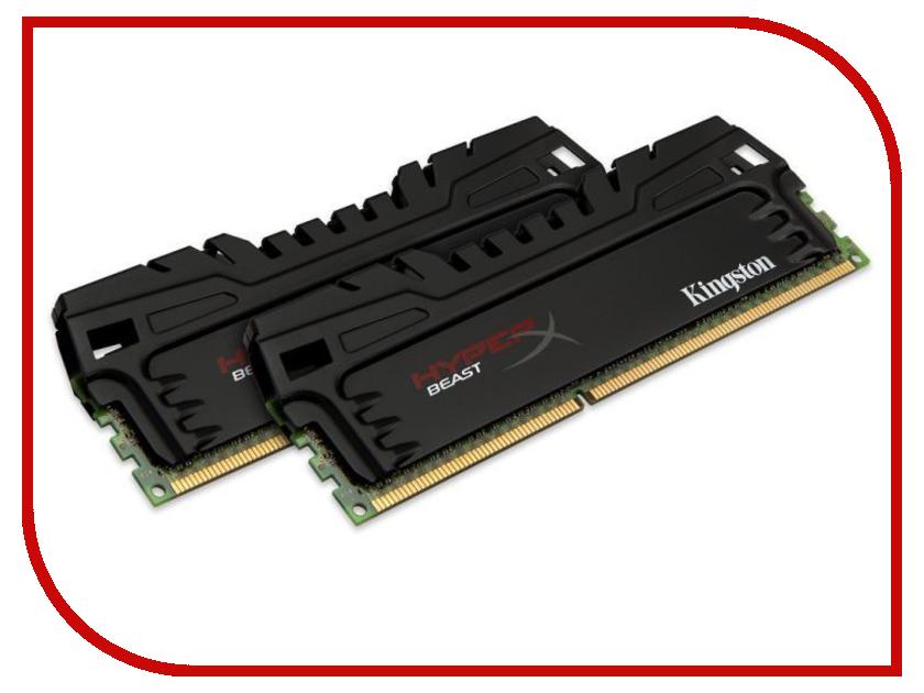 Модуль памяти Kingston HyperX Beast PC3-17000 DIMM DDR3 2133MHz - 16Gb KIT (2x8Gb) HX321C11T3K2/16 CL11