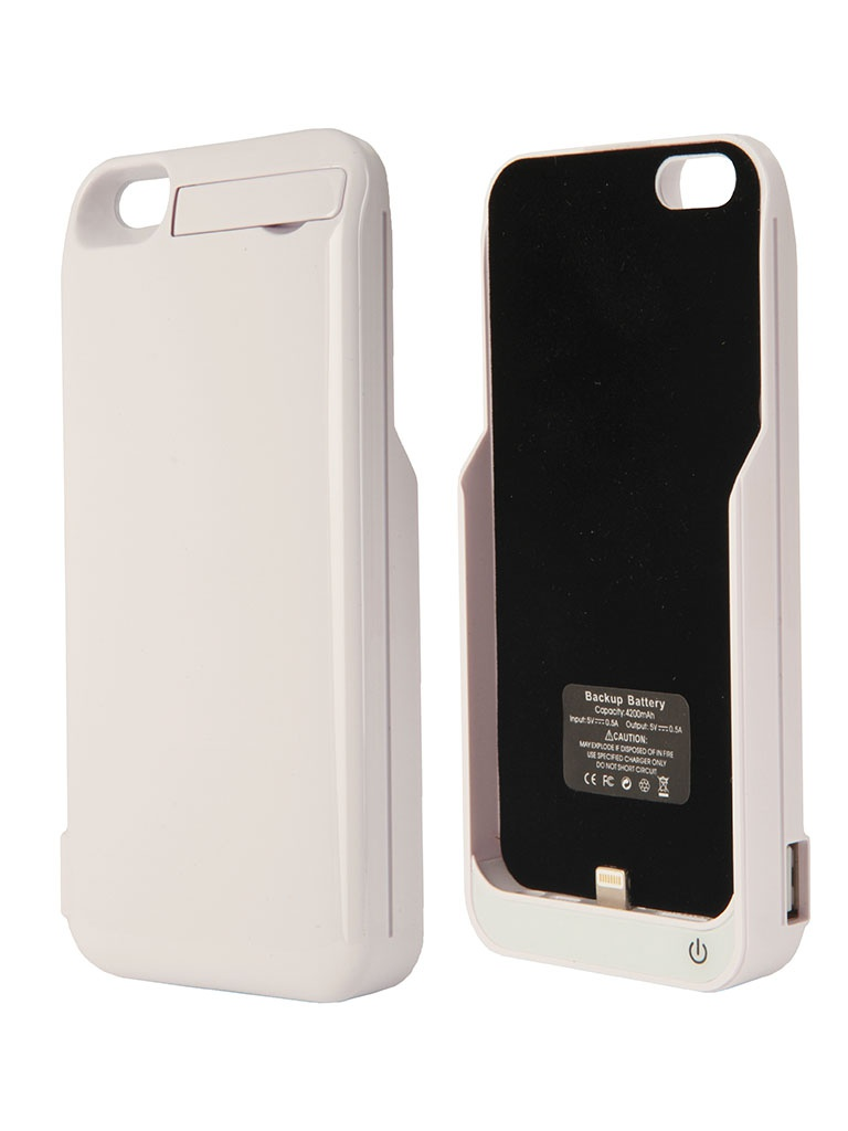 Аккумулятор Aksberry 5GB for iPhone 5 / 5S 4200 mA White