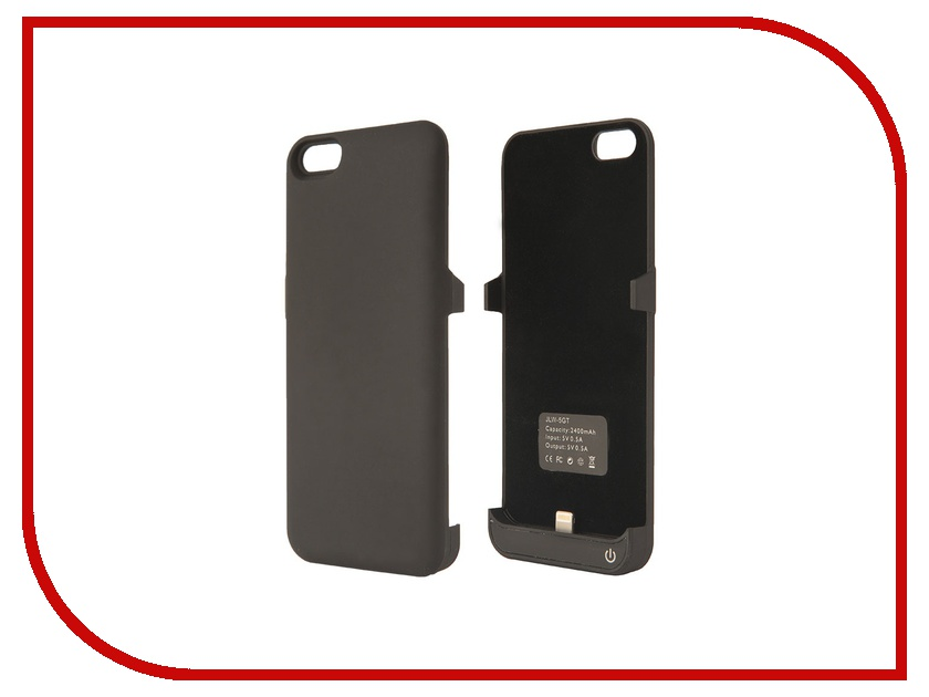 Аксессуар Aksberry 5GT for iPhone 5 / 5S / SE 2400 mA Black<br>