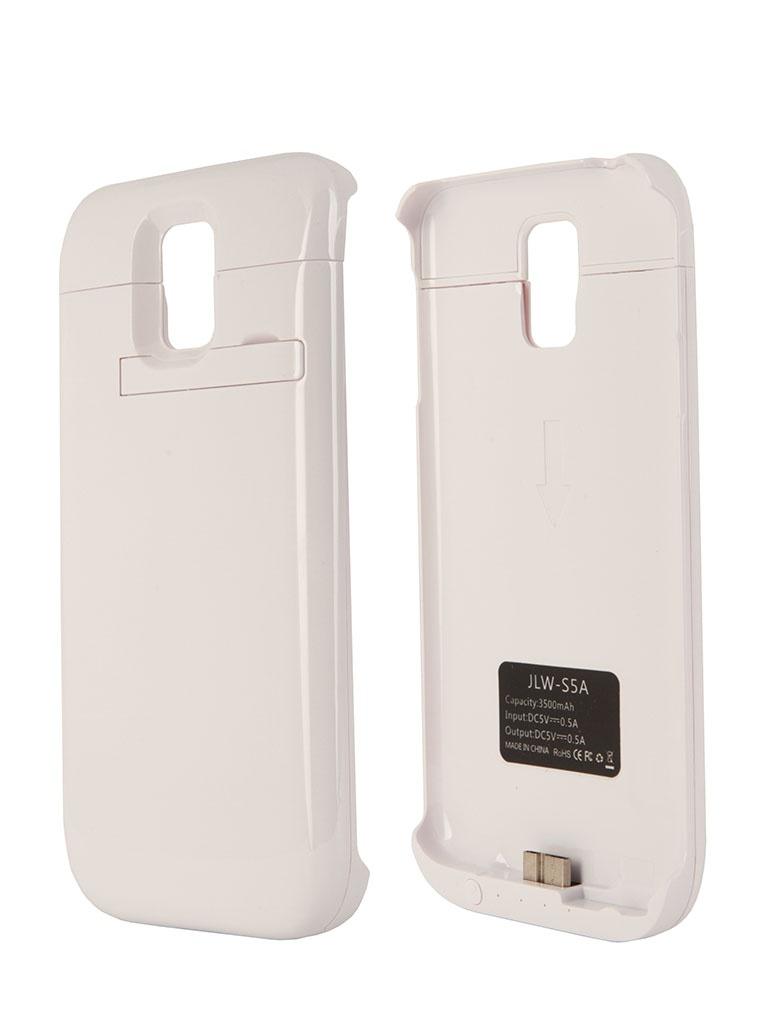 Аксессуар Аккумулятор Samsung Galaxy S5 Aksberry JLW-S5A 3500 mA White