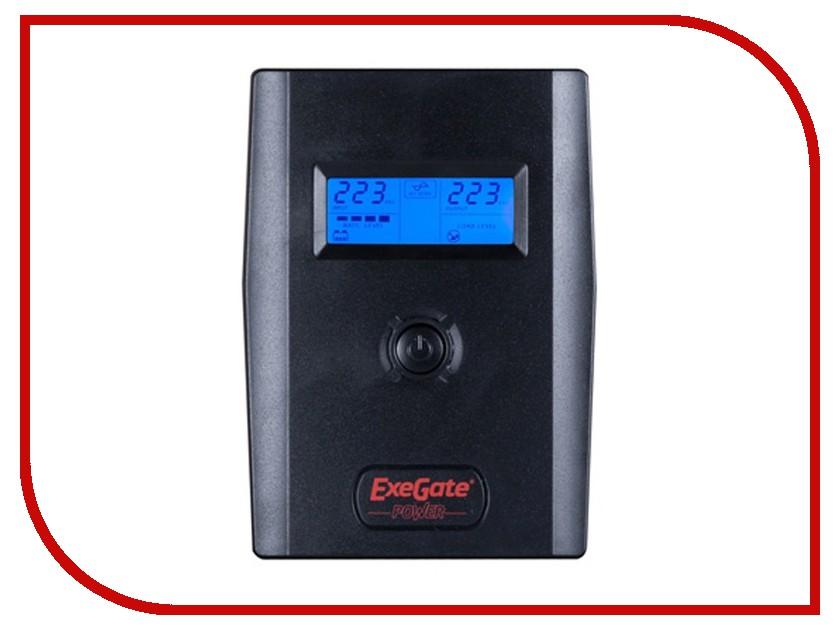 Источник бесперебойного питания ExeGate Smart LCD 600VA 360W ULB-600