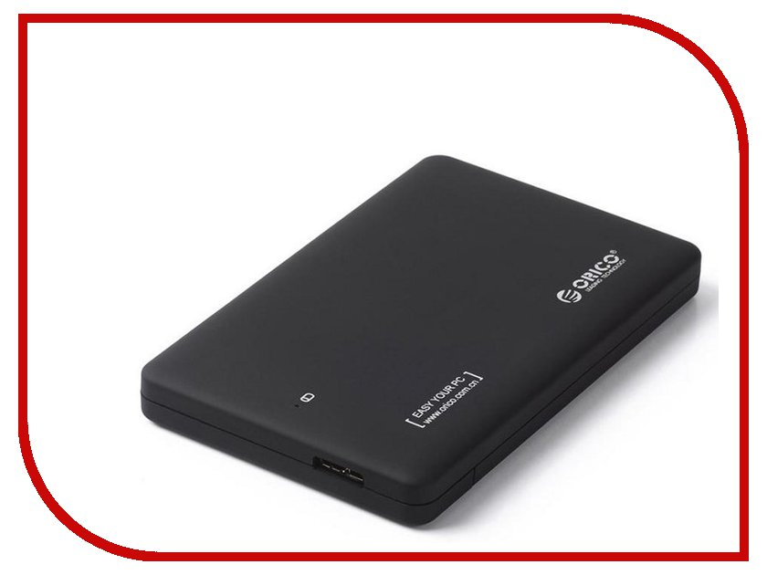 Аксессуар Корпус для HDD Orico 2599US3 Black сетевое хранилище orico 7618u3rf black