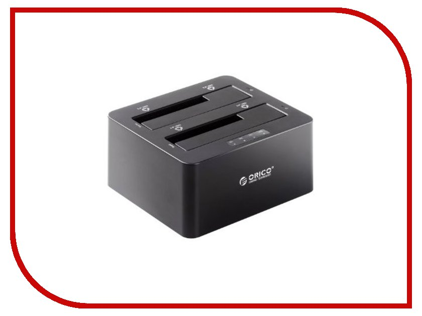 Аксессуар Док-станция for HDD Orico 6629US3-C Black аксессуар док станция для hdd satechi aluminum usb 3 0 sata iii hdd ssd docking station b00s717jh6 st u3ads