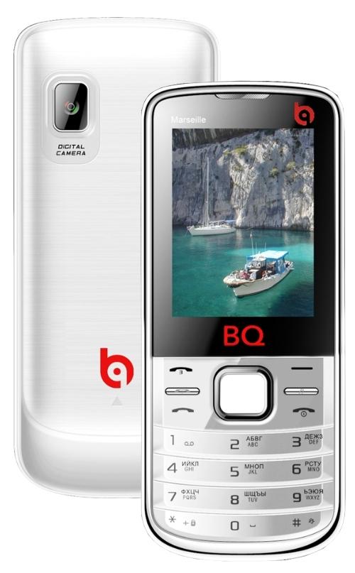 Сотовый телефон BQBQM-2204 Marseille White<br>
