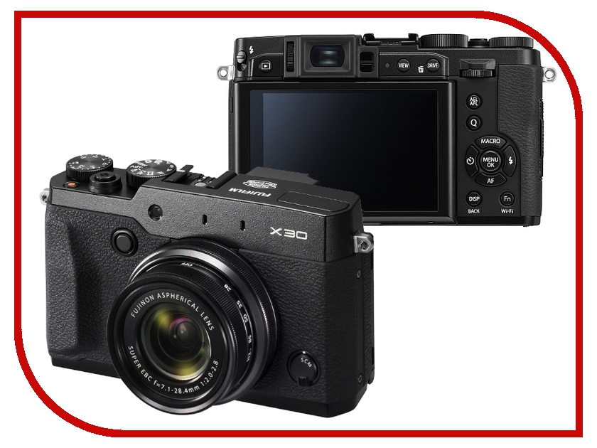 Фотоаппарат FujiFilm X30 FinePix Black
