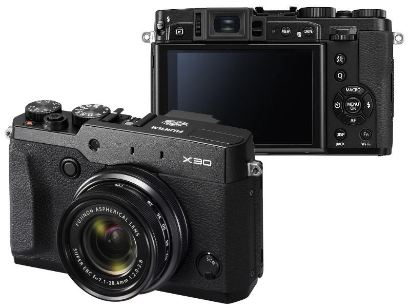 Фотоаппарат FujiFilm X30 FinePix Black<br>