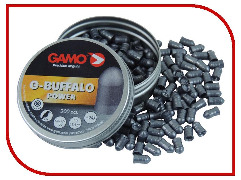 Аксессуар Пули Gamo G-Buffalo 4.5mm 200шт<br>