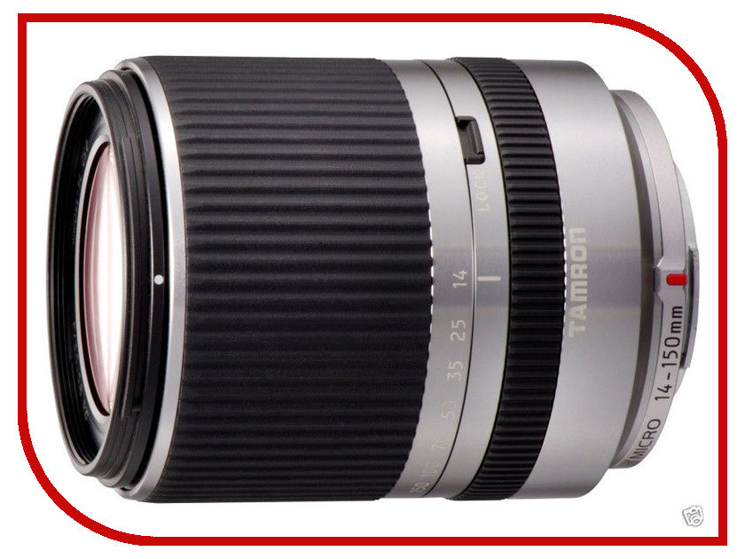 Объектив Tamron AF 14-150 mm F/3.5-5.8 Di III Micro Four Thirds Silver