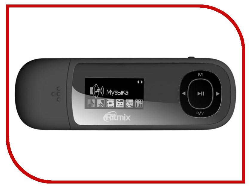 Плеер Ritmix RF-3450 4Gb Black mp3 плеер ritmix rf 3450 4gb white
