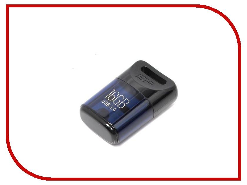 USB Flash Drive 16Gb - Silicon Power Jewel J06 Blue SP016GBUF3J06V1D