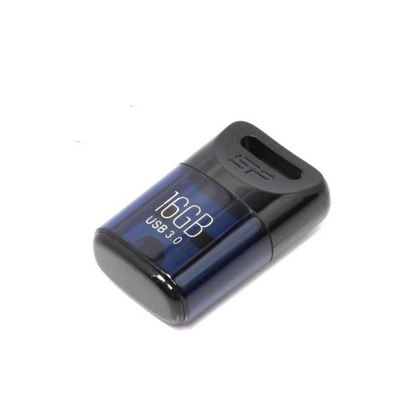 USB Flash Drive 16Gb - Silicon Power Jewel J06 Blue SP016GBUF3J06V1D<br>