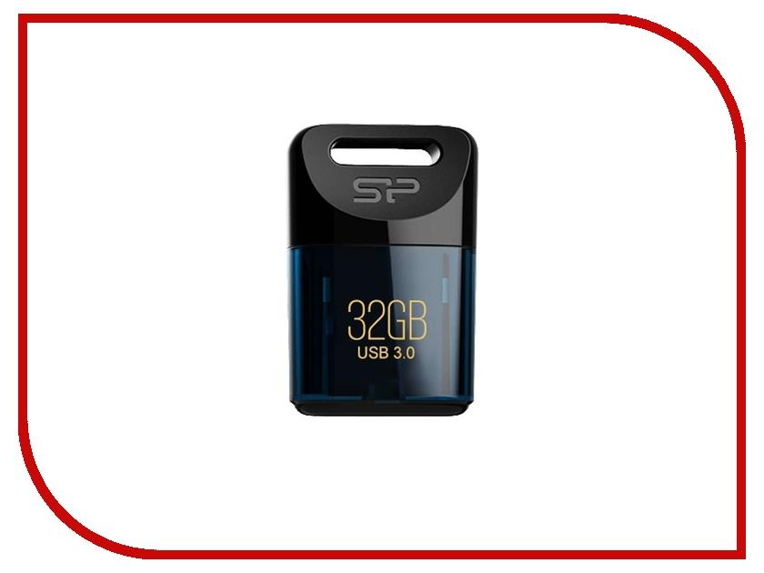 USB Flash Drive 32Gb - Silicon Power Jewel J06 Blue SP032GBUF3J06V1D