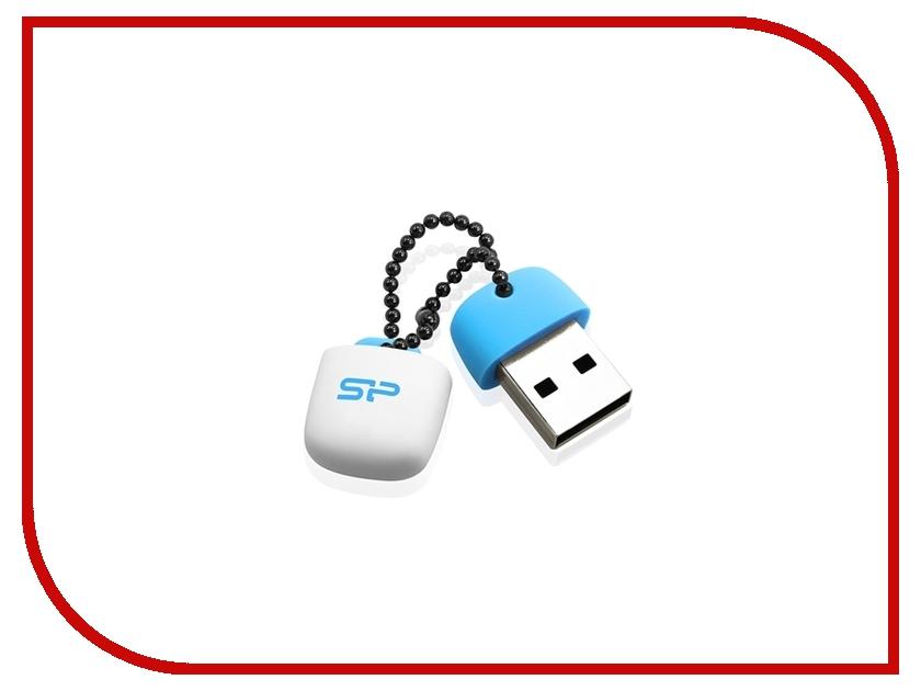 USB Flash Drive 4Gb - Silicon Power Touch T07 Blue SP004GBUF2T07V1B<br>