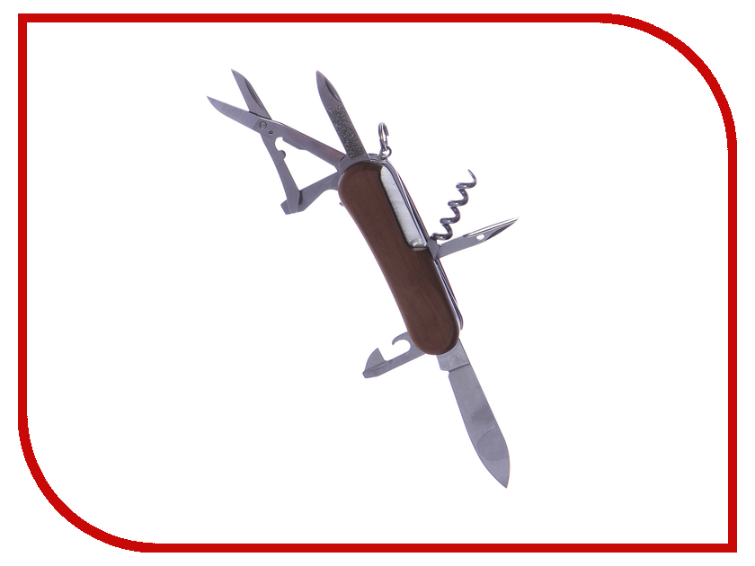 Мультитул Нож Victorinox EvoWood 17 2.3911.63 мультитул victorinox swisstool цвет стальной 27 функций 11 5 см