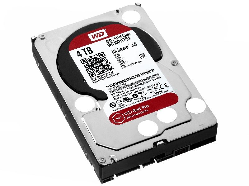 Жесткий диск 4Tb - Western Digital Red Pro WD4001FFSX<br>