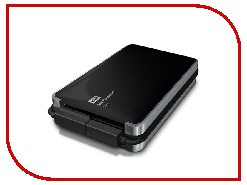 Жесткий диск Western Digital 2Tb My Passport Pro WDBRMP0020DBK<br>