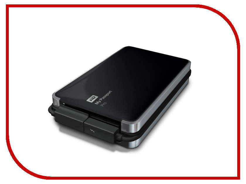Жесткий диск Western Digital My Passport Pro 4Tb WDBRNB0040DBK