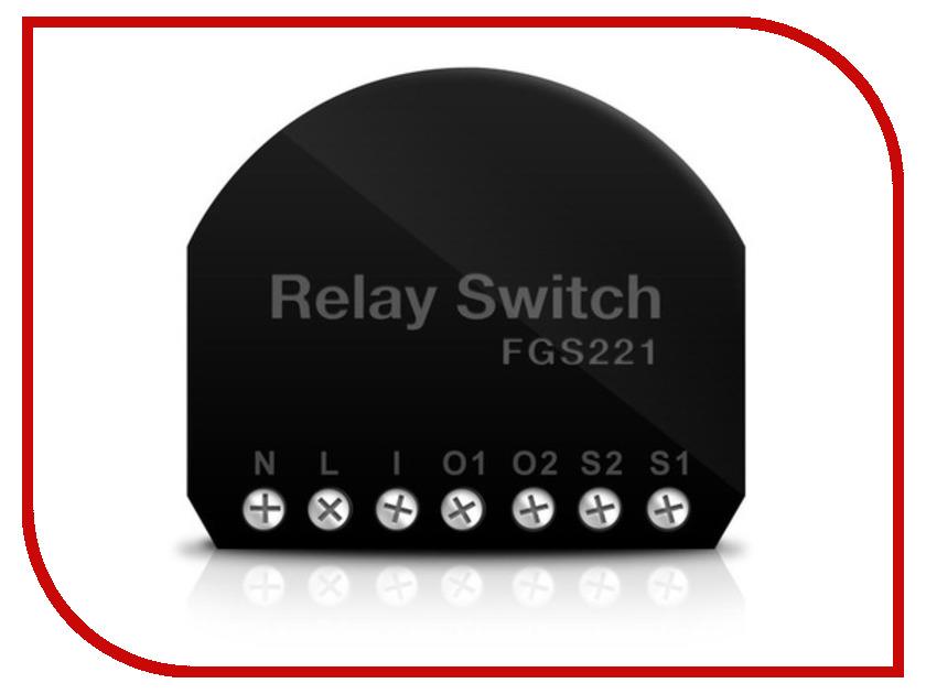 Исполнитель Fibaro Double Switch 2x1.5kW FIB_FGS-221 / FIB_FGS-222 встраиваемое двойное реле<br>