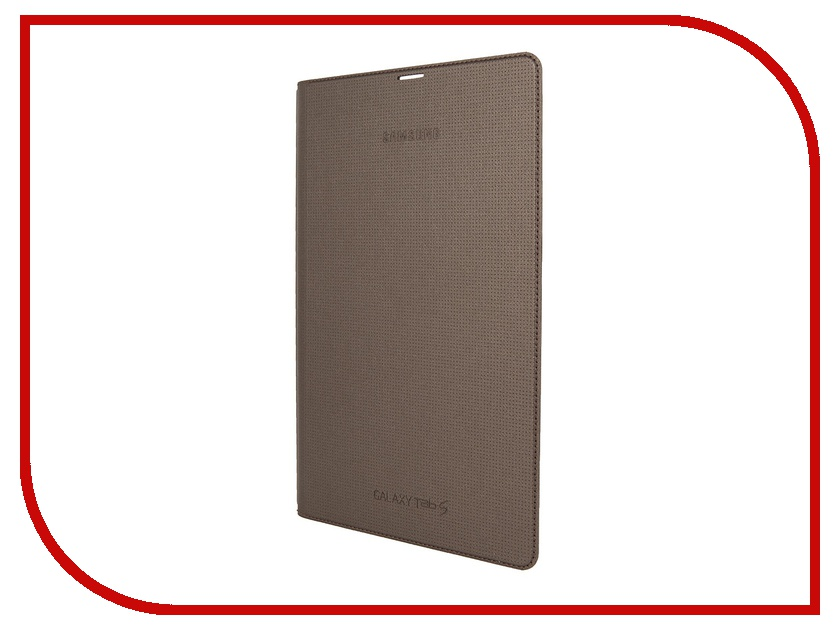 Аксессуар Чехол Samsung SM-T700 Tab S 8.4 Simple Cover Bronz EF-DT700BSEGRU<br>