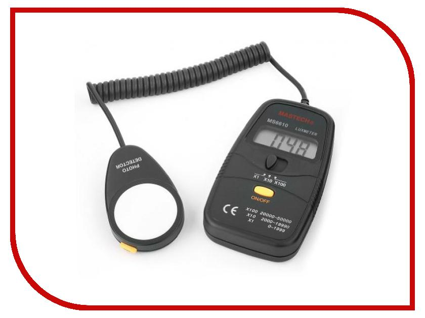 Измеритель освещенности Mastech MS6610 m046 new laser guide ultrasonic distance measure range finder 15m mastech ms6450