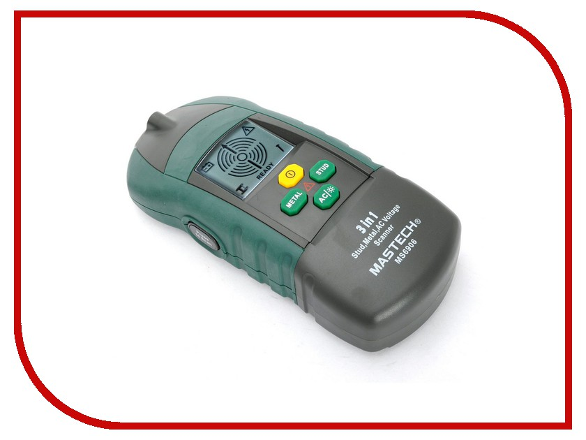 Детектор Mastech MS6906 mastech ms6252a handheld lcd digital electronic wind speed meter