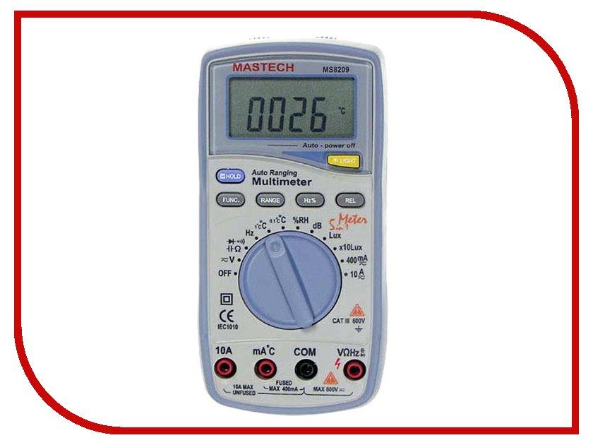 Мультиметр Mastech MS8209 мультиметр mastech ms8217